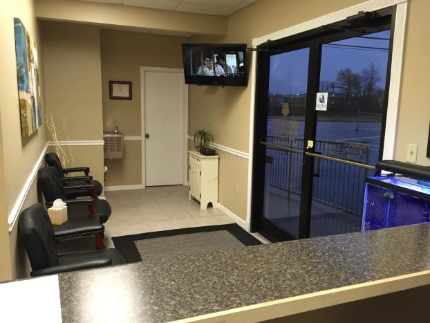 Front desk/waiting area